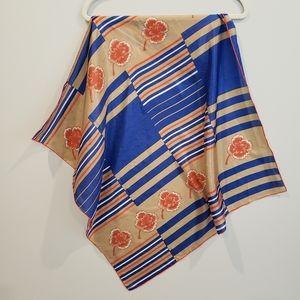 Vintage silk scarf • Triangle• Republic of China